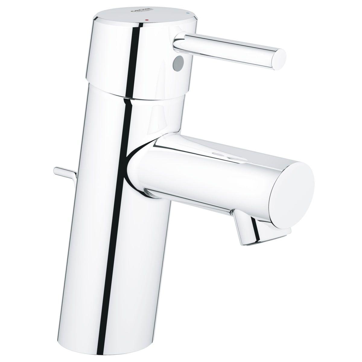 Grohe 34 270 A Build Com Bathroom Faucets Single Hole Bathroom Faucet Low Arc Bathroom Faucet [ 1200 x 1200 Pixel ]