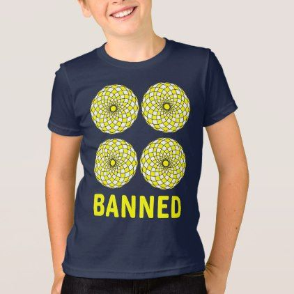 #Banned Kids' American Apparel T-Shirt - #cool #kids #shirts #child #children #toddler #toddlers #kidsfashion