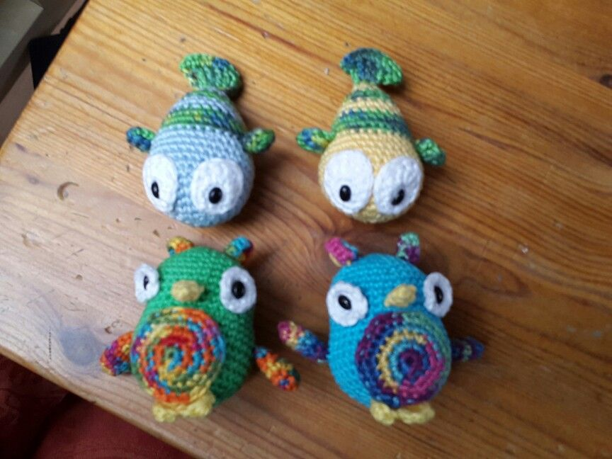 Mobile - Tierchen | häkeln - crochet | Pinterest | Häkeln