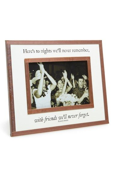 Ben\'s Garden \'Here\'s to Nights\' Picture Frame (9x7) available at ...