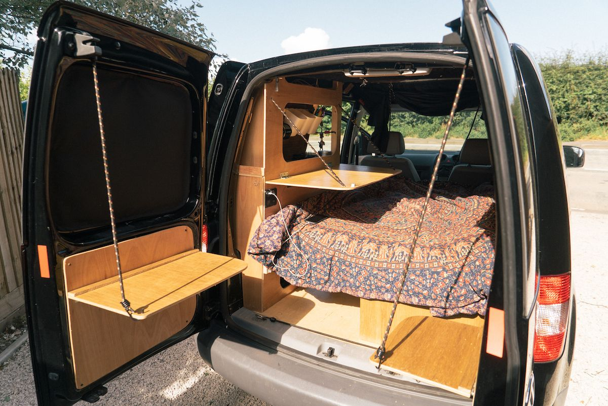 caddycamperausbau09 camping ideas that could be utilized. Black Bedroom Furniture Sets. Home Design Ideas