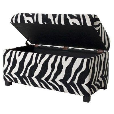 Storage And Zebra Print. Love