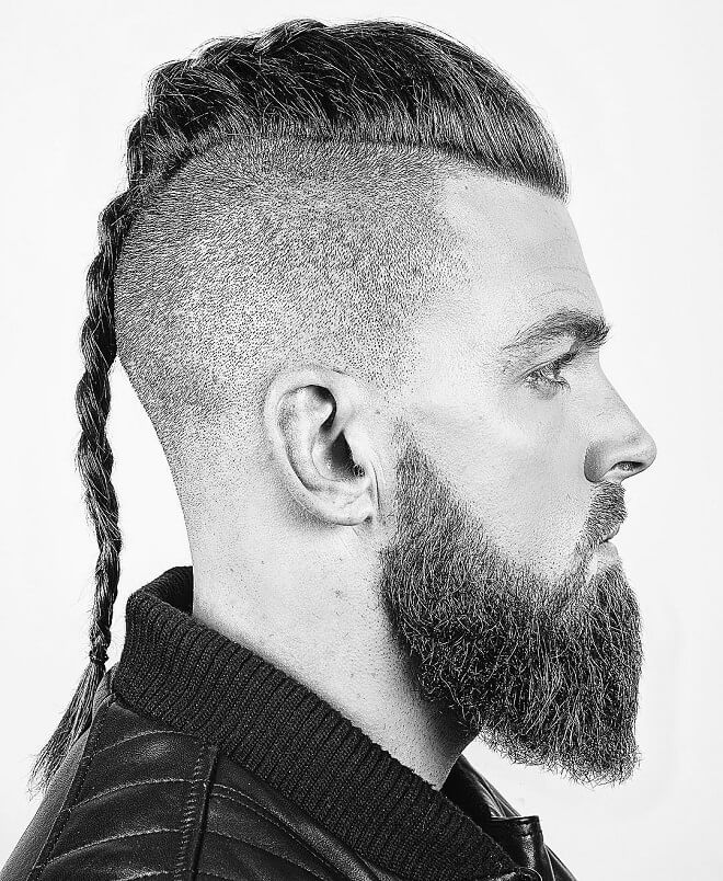 Top 30 Stylish Viking Haircut For Men Amazing Viking Haircut Styles 2019 In 2020 Viking Hair Viking Haircut Mens Haircuts Short