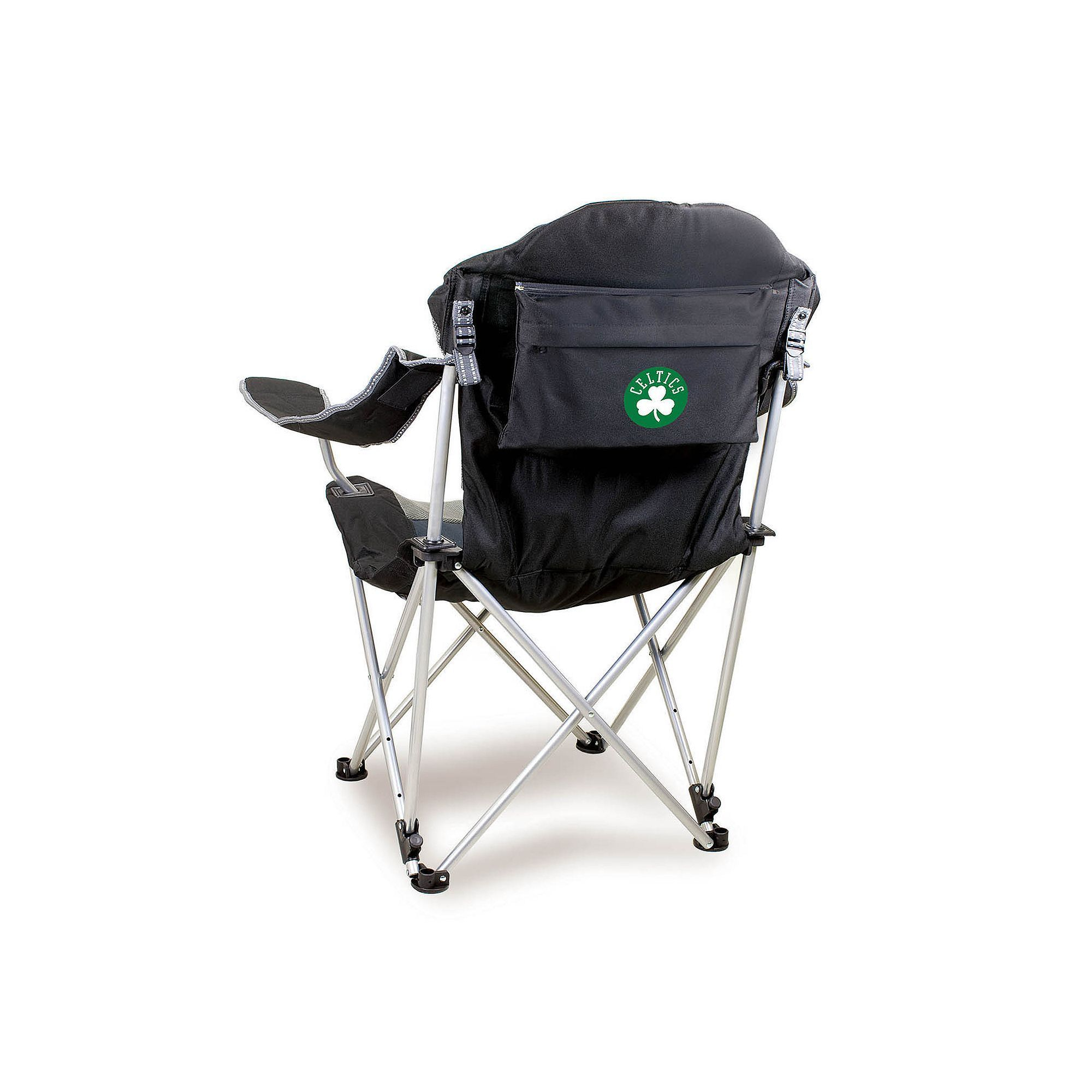 Outdoor Picnic Time Boston Celtics Reclining Camp Chair