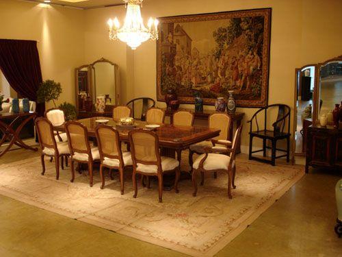 Diana reisfeld muesta una decoraci n de comedor estilo for Decoracion estilo clasico