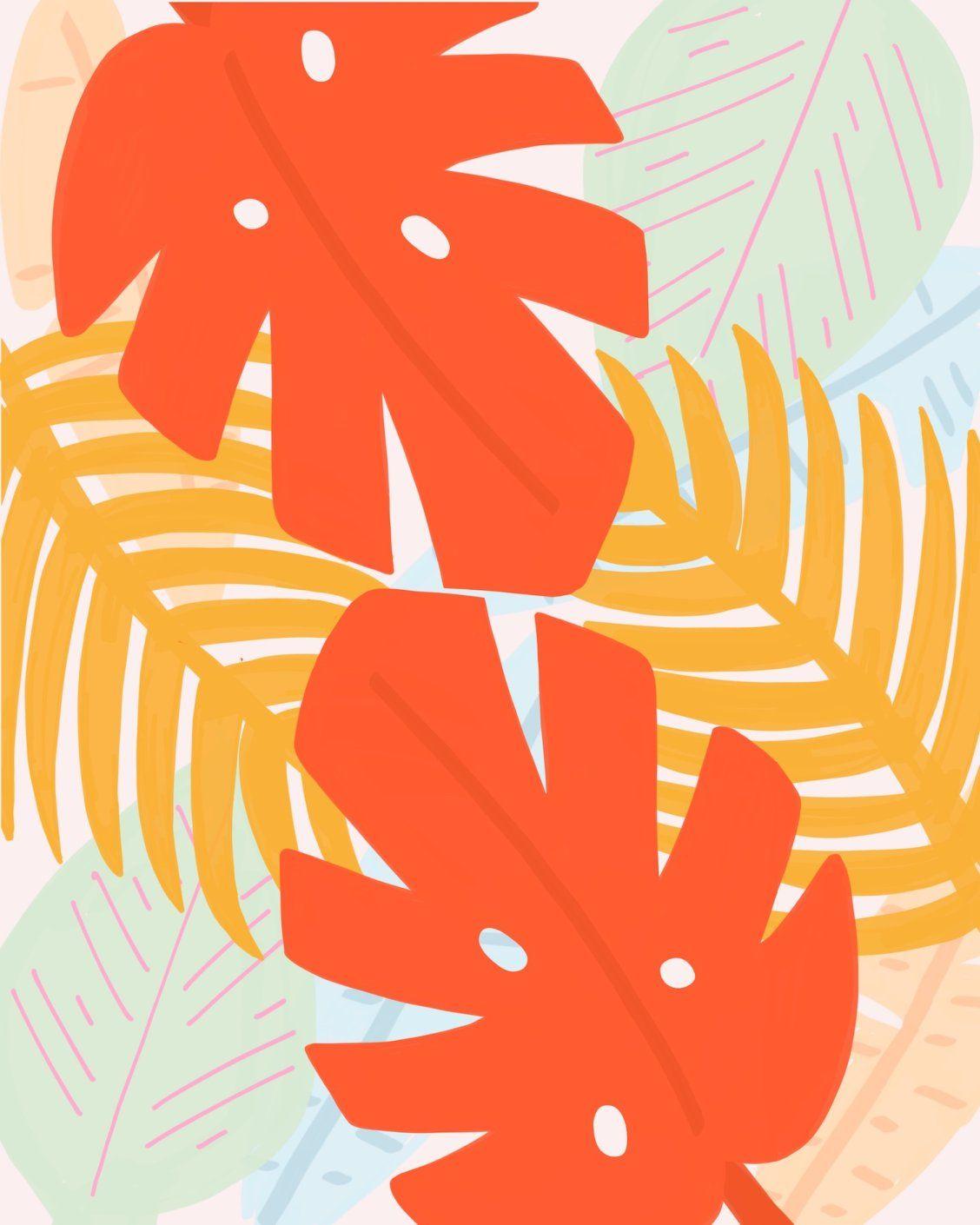 """Leaves"" Art by Rhianna Marie Chan | Society6 thumbnail"