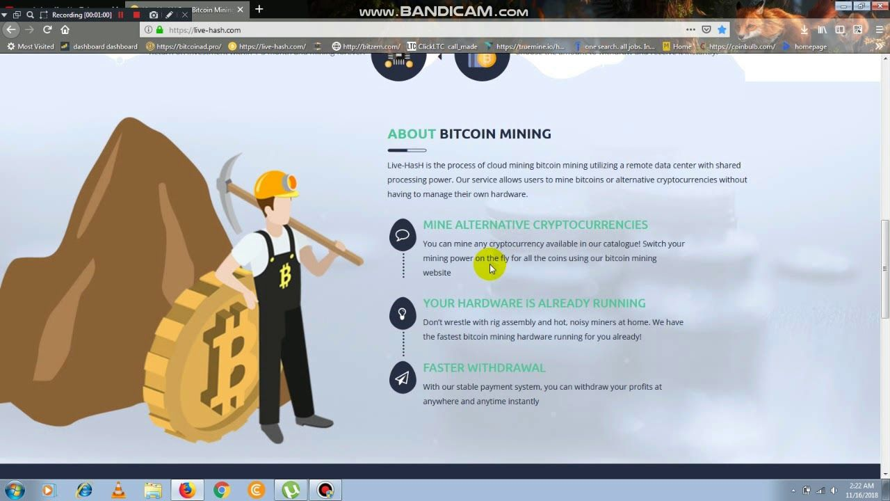 0 05 BTC Earn Without Invest - High Paying 50$ per day Bitcoin