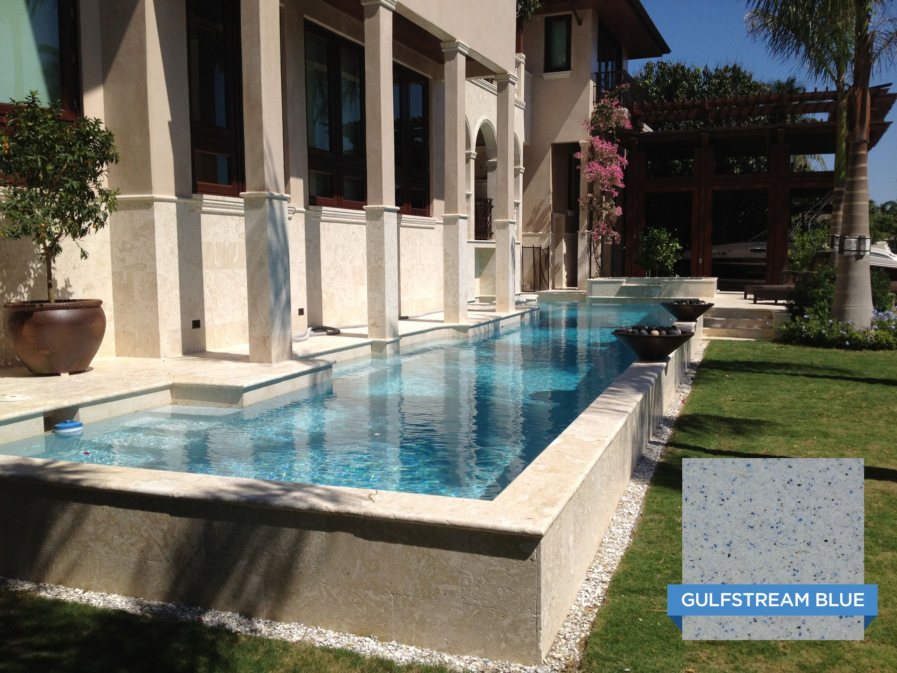 Hydrazzo Gulfstream Blue Looks So Inviting Right About Now. Serenity Pools  Living Up To Their