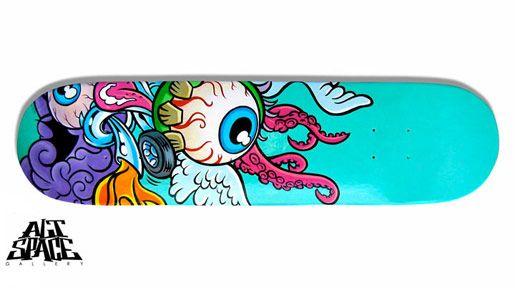 skateboard art | Lesson inspiration [ skateboards] | Pinterest ...