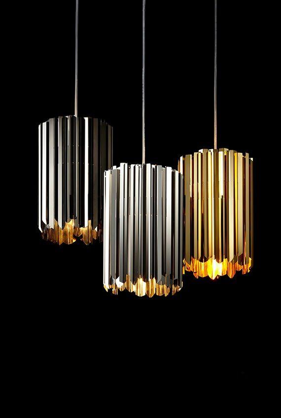 Tom Kirk Facet Pendant Ceiling Light Contemporary Lighting