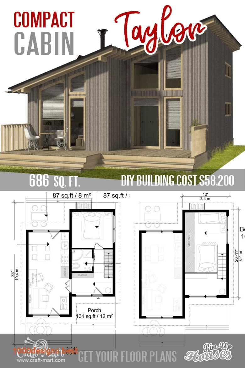 52 Tiny House Architectural Plans 9 Adorable tiny home plans and designs for fun weekend