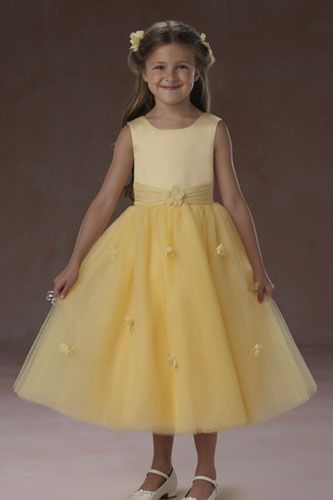 MagicMomentsCollections.com | Forever Yours 2957 Flower Girl Dress