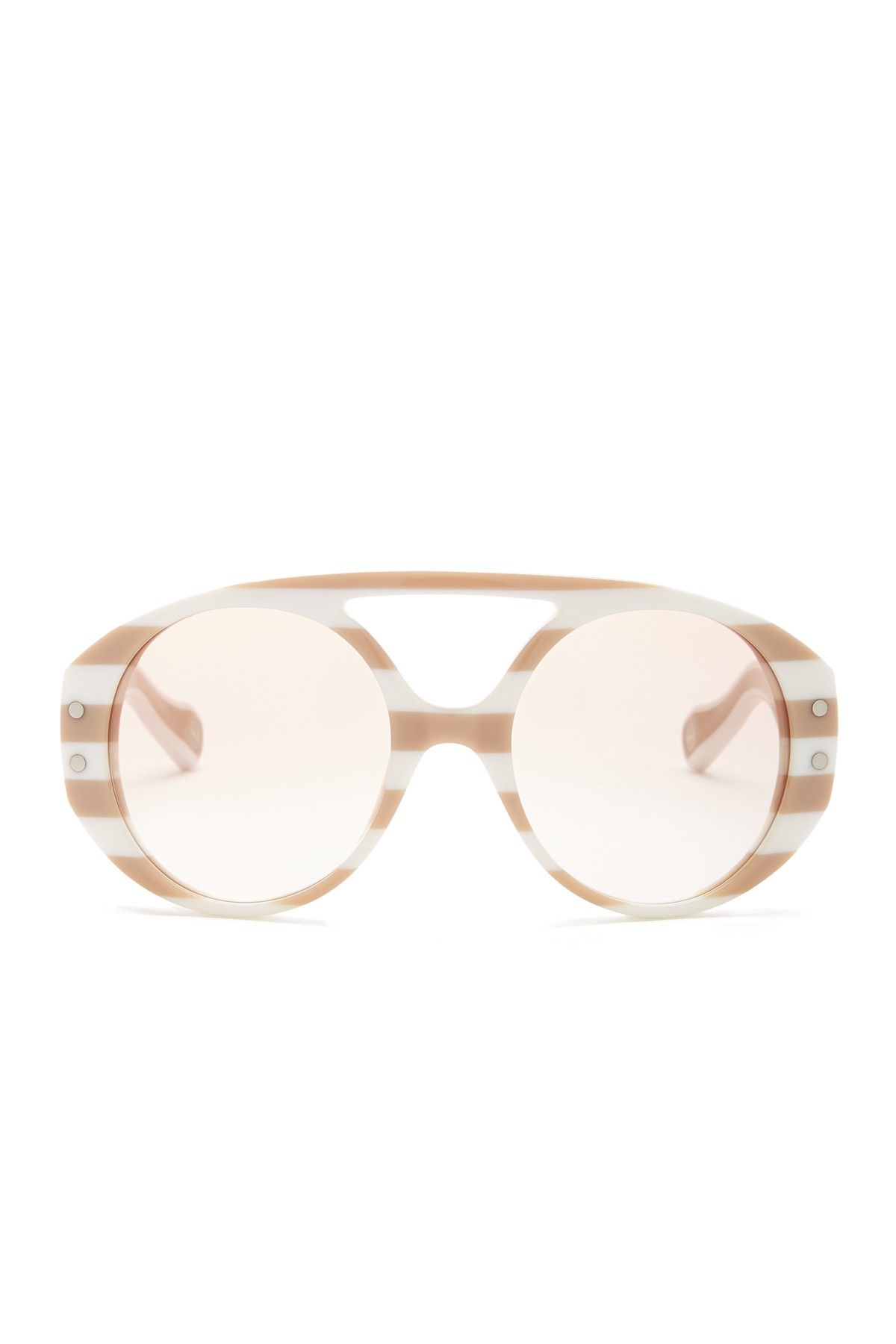 1a989d7f0d90 How cool are these Marc Jacobs Striped Plastic Sunglasses ...
