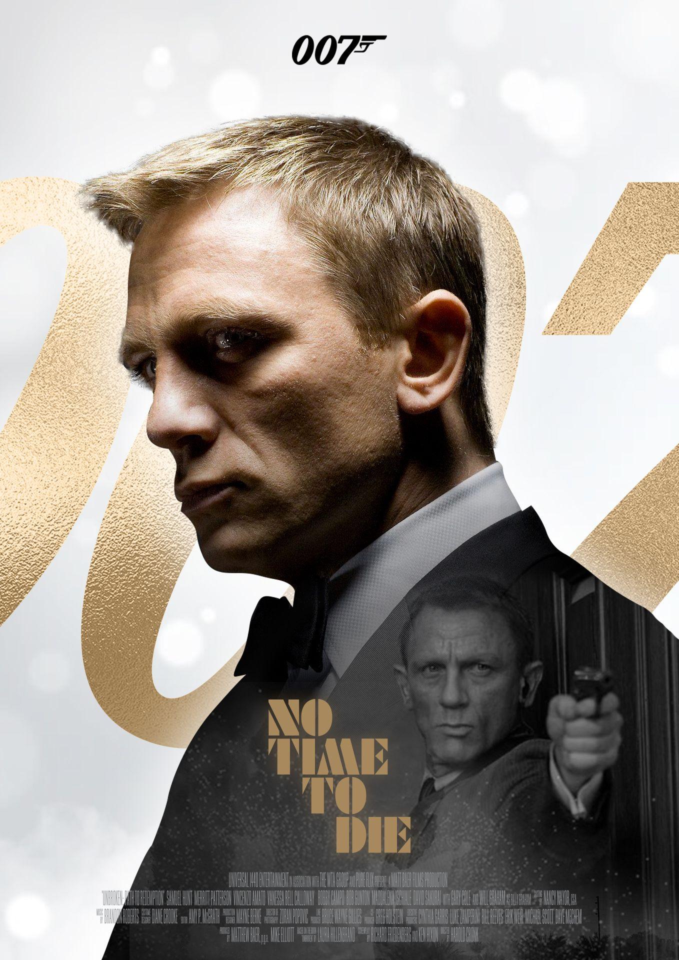 james bond 007 notimetodie movie poster