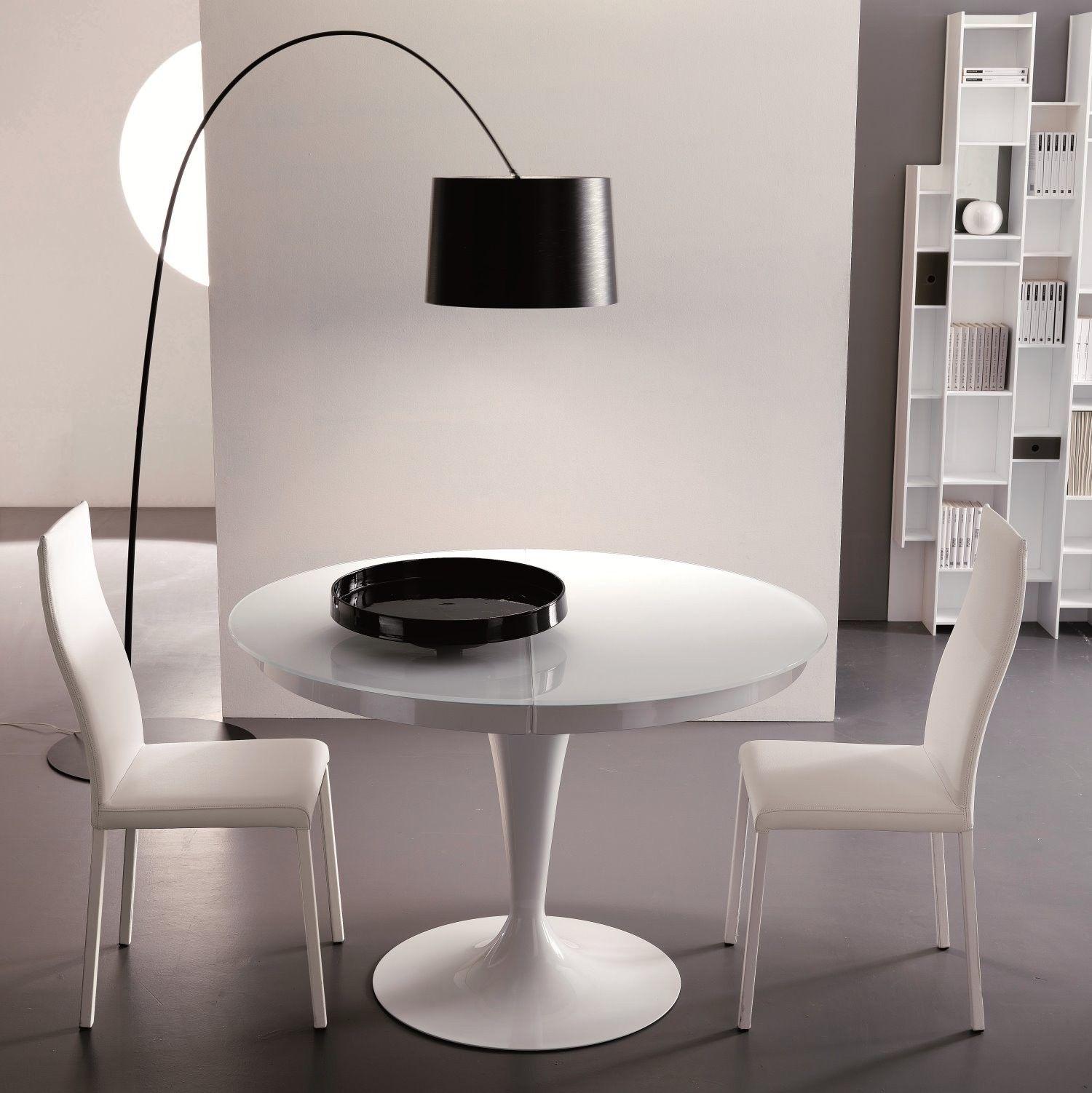 Tavolo moderno rotondo allungabile Eclipse ARREDACLICK