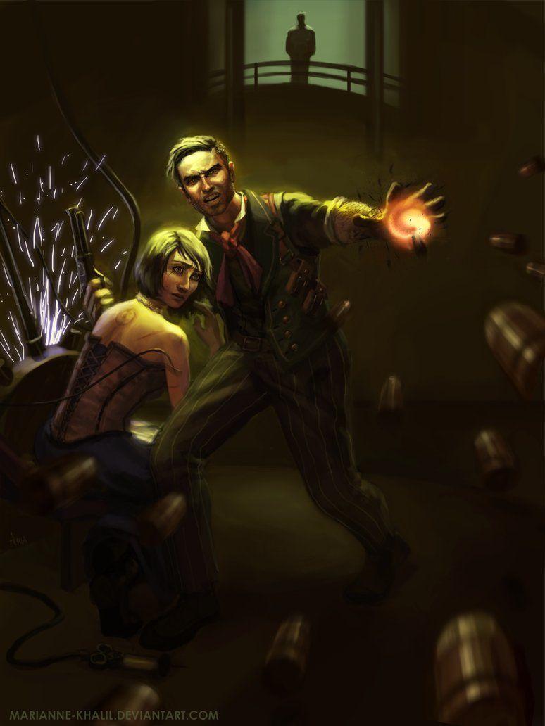 BioShock Infinite: The Deal is Off by marianne-khalil on DeviantArt