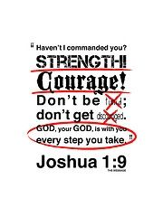 scriptures on strength - Google Search