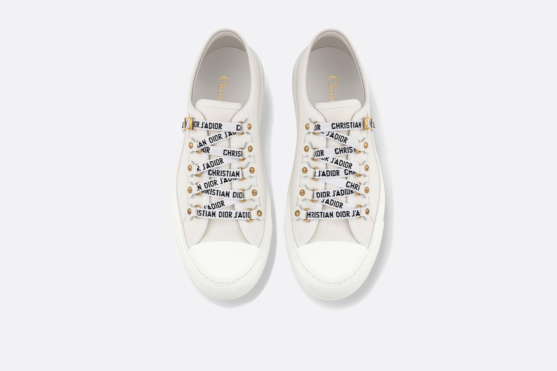 Walk'n'Dior Sneaker White Canvas