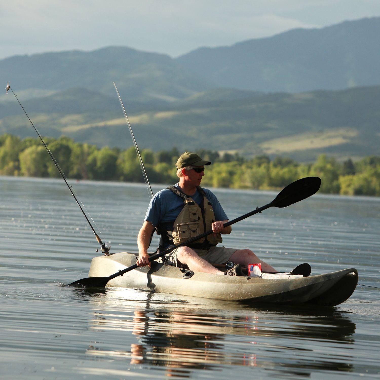 Lifetime 10 Feet Tandem Fishing Kayak with Paddles