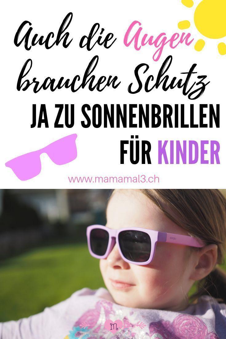 Die Augen eines Kindes sind sogar noch empfindlicher als die von Erwachsenen. Deshalb brauche... Die Augen eines Kindes sind sogar noch empfindlicher als die von Erwachsenen. Deshalb brauchen auch sie Schutz in Form einer guten Sonnenbrille, vor allem in den Bergen oder am Meer...,