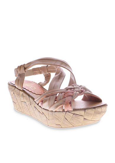 b3695455a672 Azura® Jaques Wedge Sandal