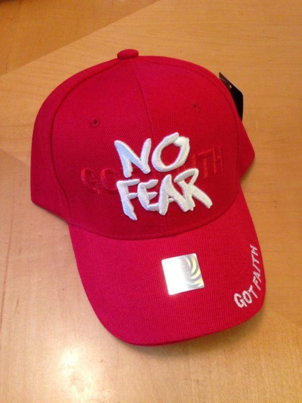 9808f6090c5 No Fear Got Faith Christian baseball cap