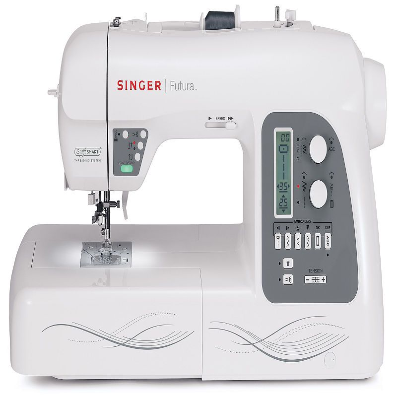 Futura XL40 Sewing Embroidery Machine Embroidery Machines And Delectable Singer Futura Ses1000 Embroidery Sewing Machine
