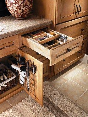 Pin By Kitchens Com On Bathrooms Bathroom Vanity Organization Bathrooms Remodel Home