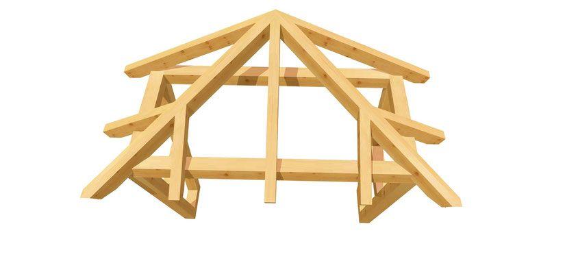 EingangsVordach selber bauen holzbauplan.de Vordach