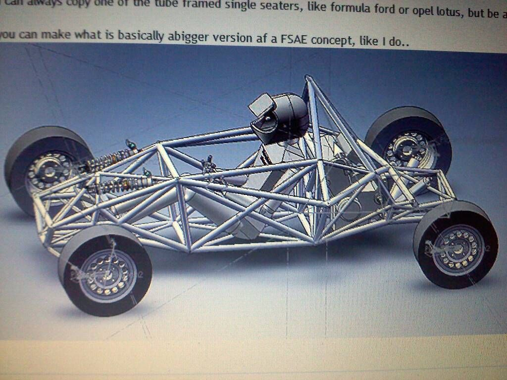 Formula Ford Chassis Drawings