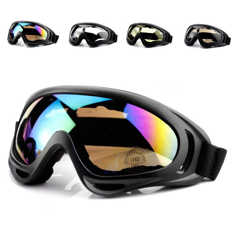 0bd22a1ddc3 Adults Winter Snow Sports Googles Ski Snowmobile Snowboard Skate Glasses  Eyewear  Vector
