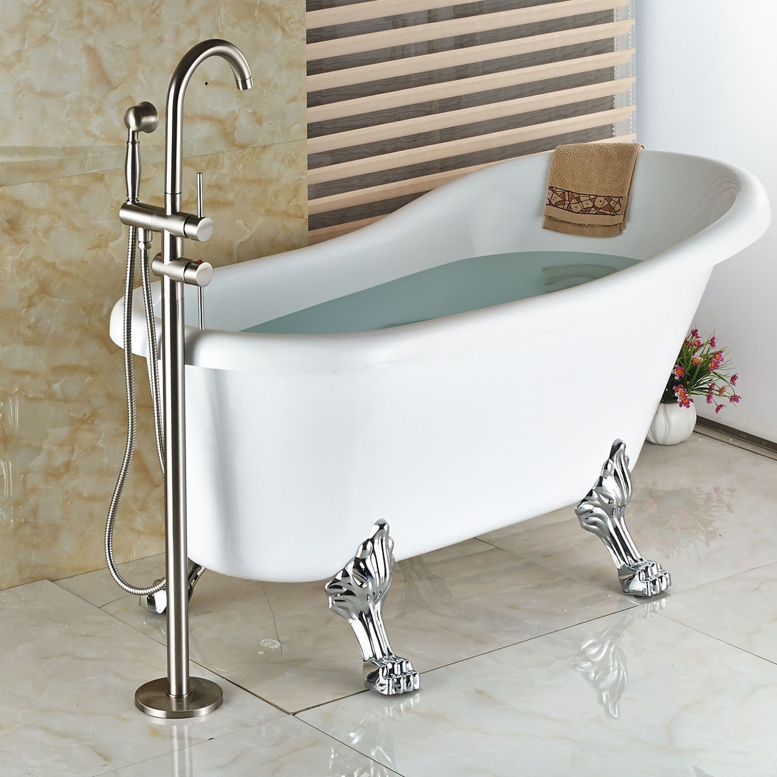 Function Bathroom Tub Faucets Faucet Body Material Brass