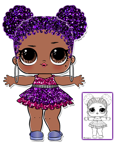 Coloring Pages Lol Dolls Lol