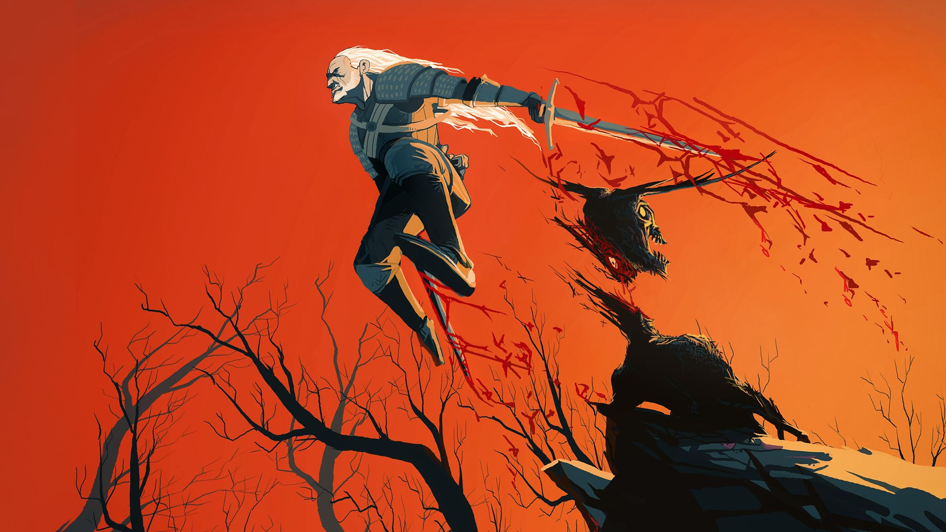 The Witcher Geralt Of Rivia Geralt Of Rivia Witcher Art The Witcher Geralt