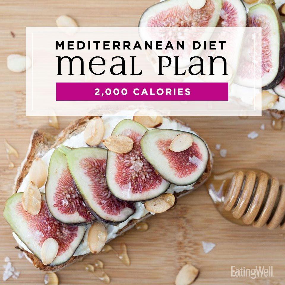 2000 Kalorien Fitness-Diät