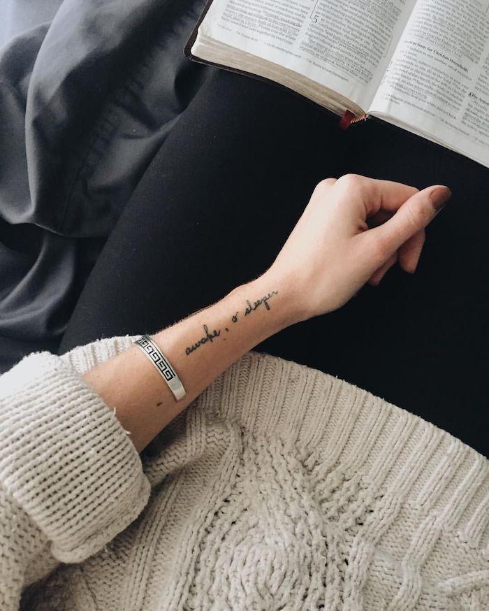 52 + tolle Ideen und Bilder zum Thema Tattoo Schriften