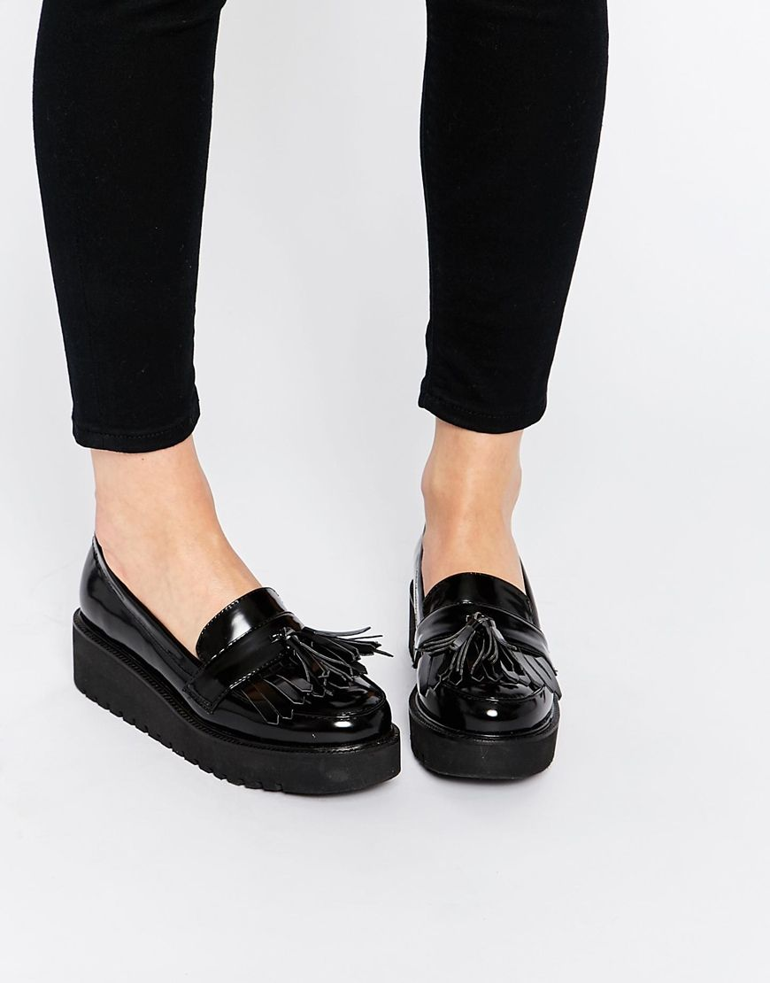 ASOS OUTRIGHT Flatform Loafers
