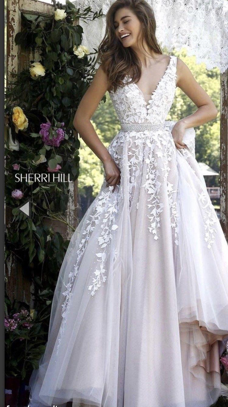 Nice great prom dress sherri hill ball gown size