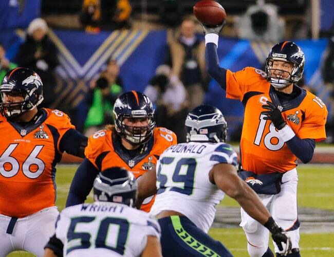 NFL: Denver Broncos lose unbeaten record as Indianapolis