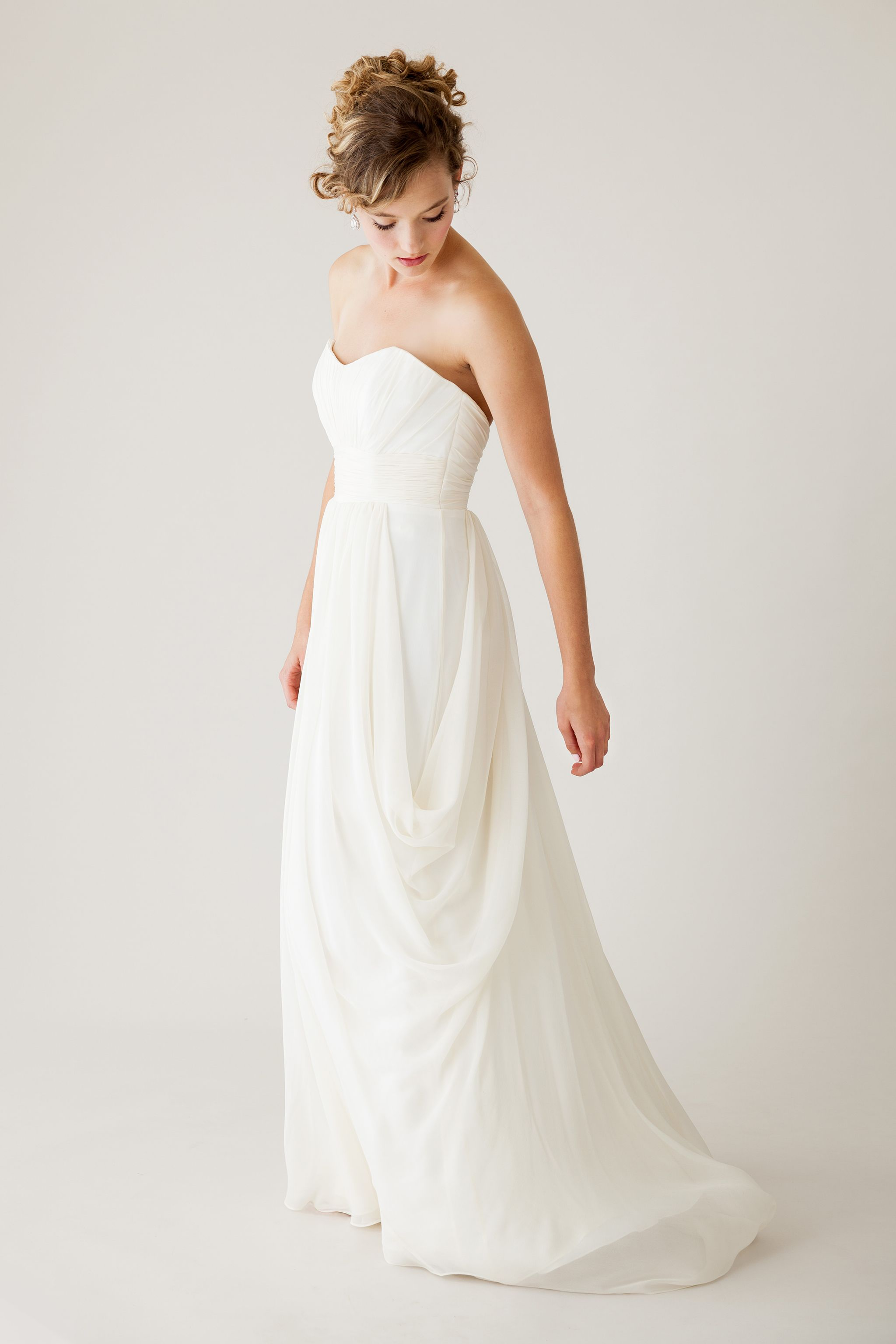 Ethereal wedding dress  The Goddess from astridmerced Flower crowns and warm breezes are