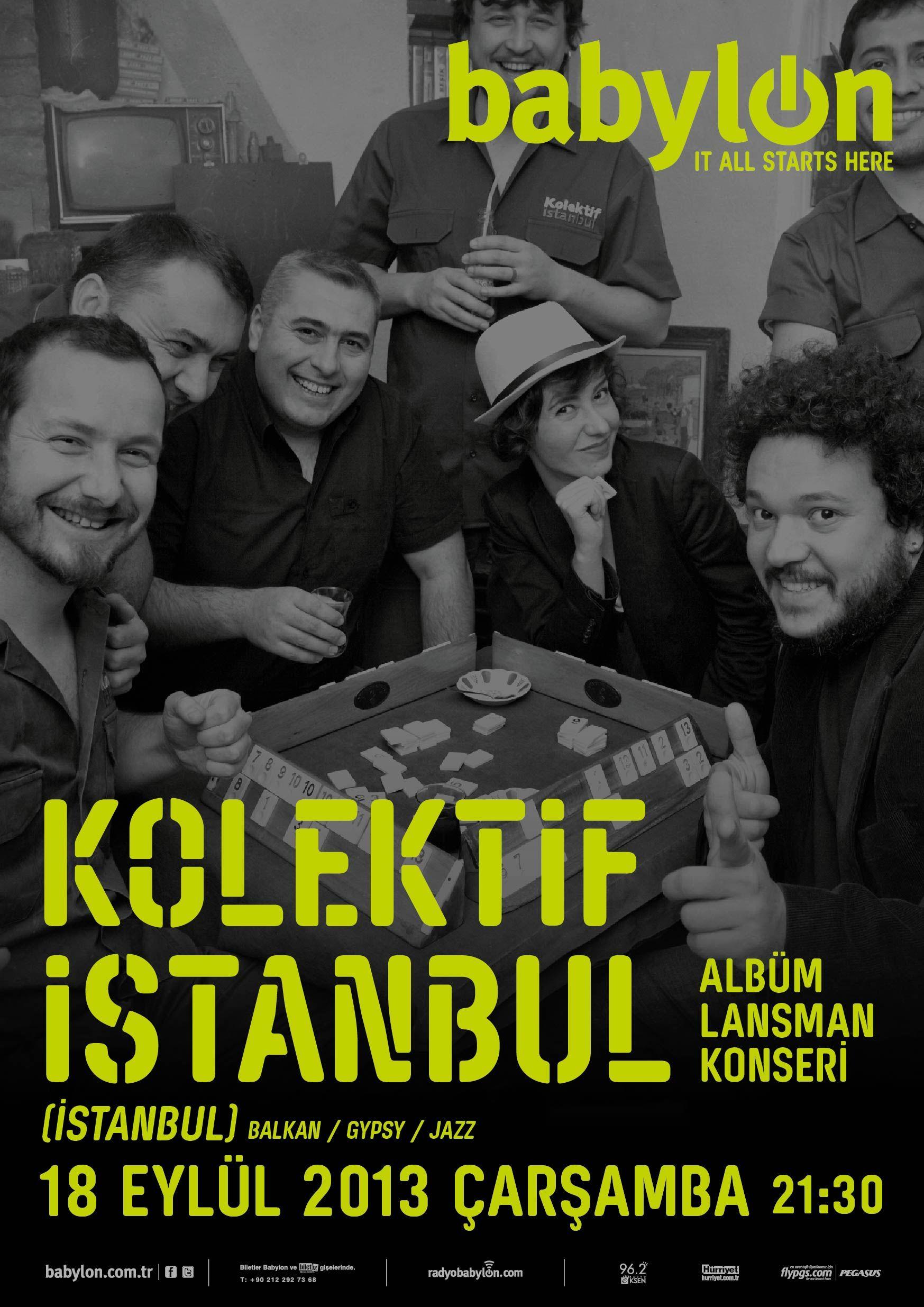 Kolektif Istanbul - 18 Eylül Çarşamba
