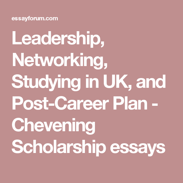 Good Health Essay Leadership Networking Studying In Uk And Postcareer Plan  Chevening  Scholarship Essays Healthy Living Essay also Synthesis Essays Leadership Networking Studying In Uk And Postcareer Plan  English Short Essays