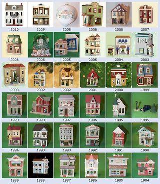 Hallmark Nostalgic Christmas Houses Hallmark Christmas Ornaments Hallmark Ornaments Hallmark Keepsake Ornaments