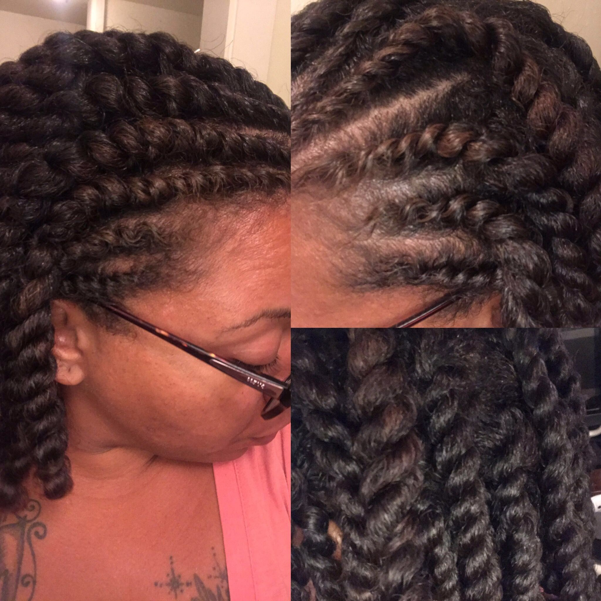 Flat Two Strand Twist Set On Medium Length Natural Hair Natural Hair Styles Hair Styles Natural Hair Twists