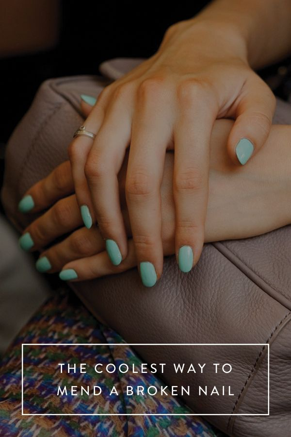 The Coolest Way to Fix a Broken Nail | Make-up and Beauty ...