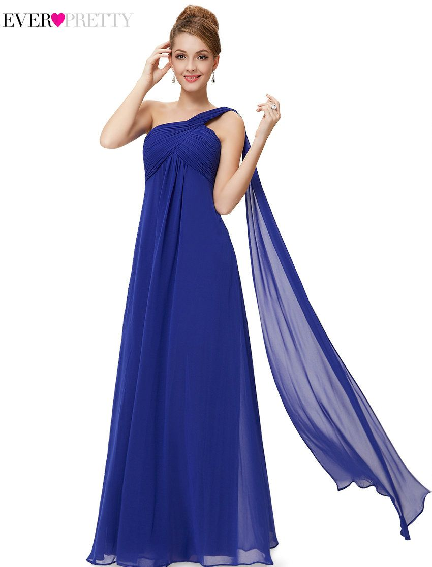 Dresses to wear to a wedding as a guest over 50  Long Pink Bridesmaid Dresses A Line Under  Ever Pretty EPPK