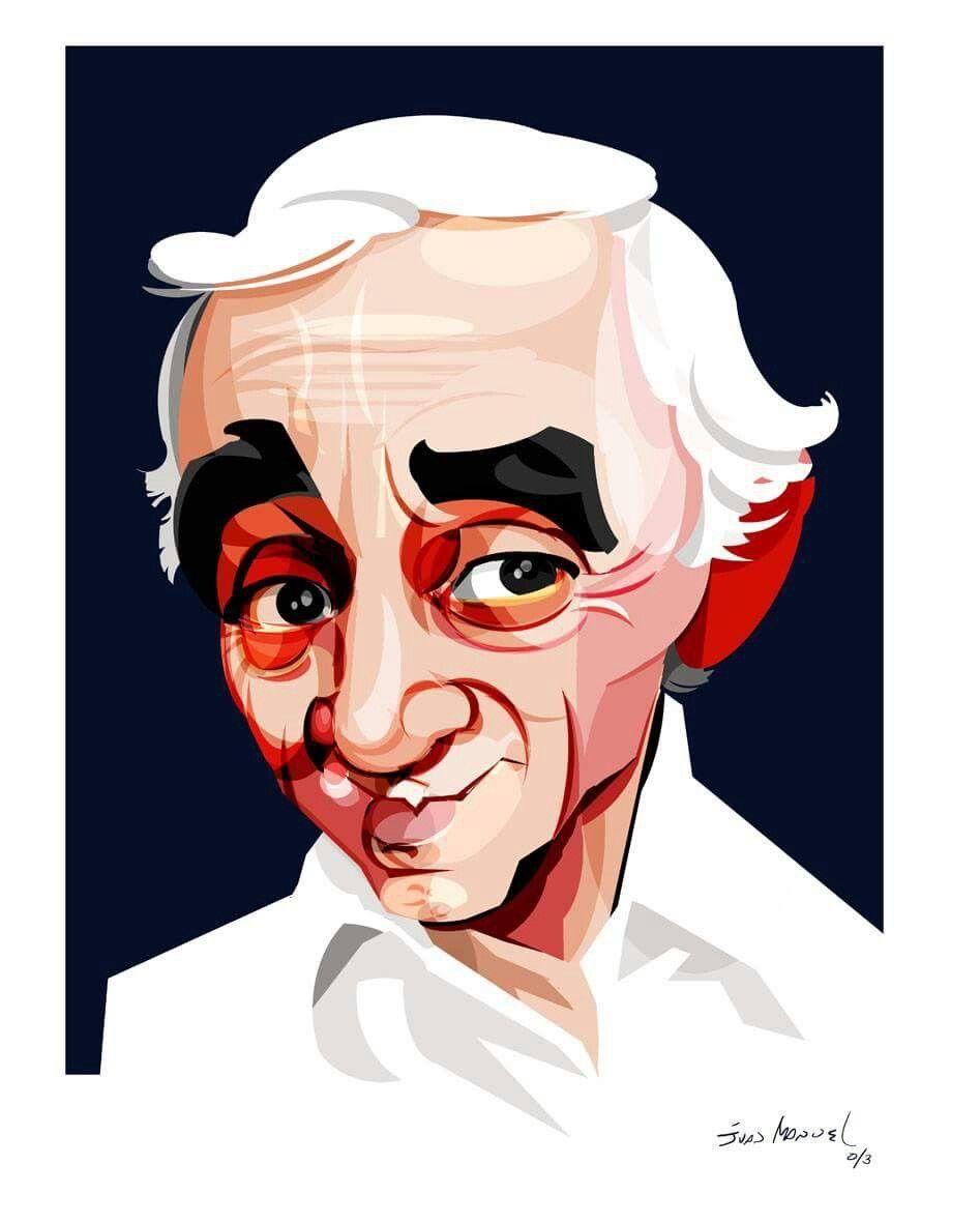 le dernier grande remise magasin meilleurs vendeurs Is it Ben Cartwright or Charles Aznavour? | Caricatures en ...