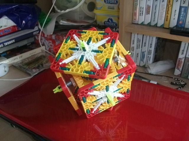 Knex Endless Folding Cube Instructions K39nex T Cube