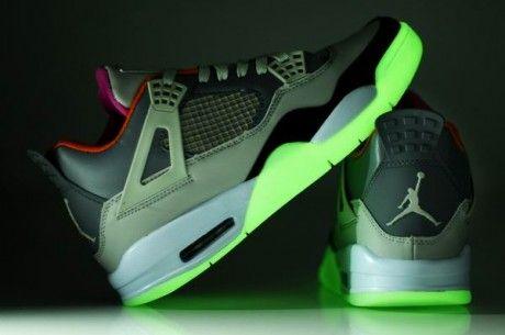 Nike Air Jordan Fusion 4IV LED Light