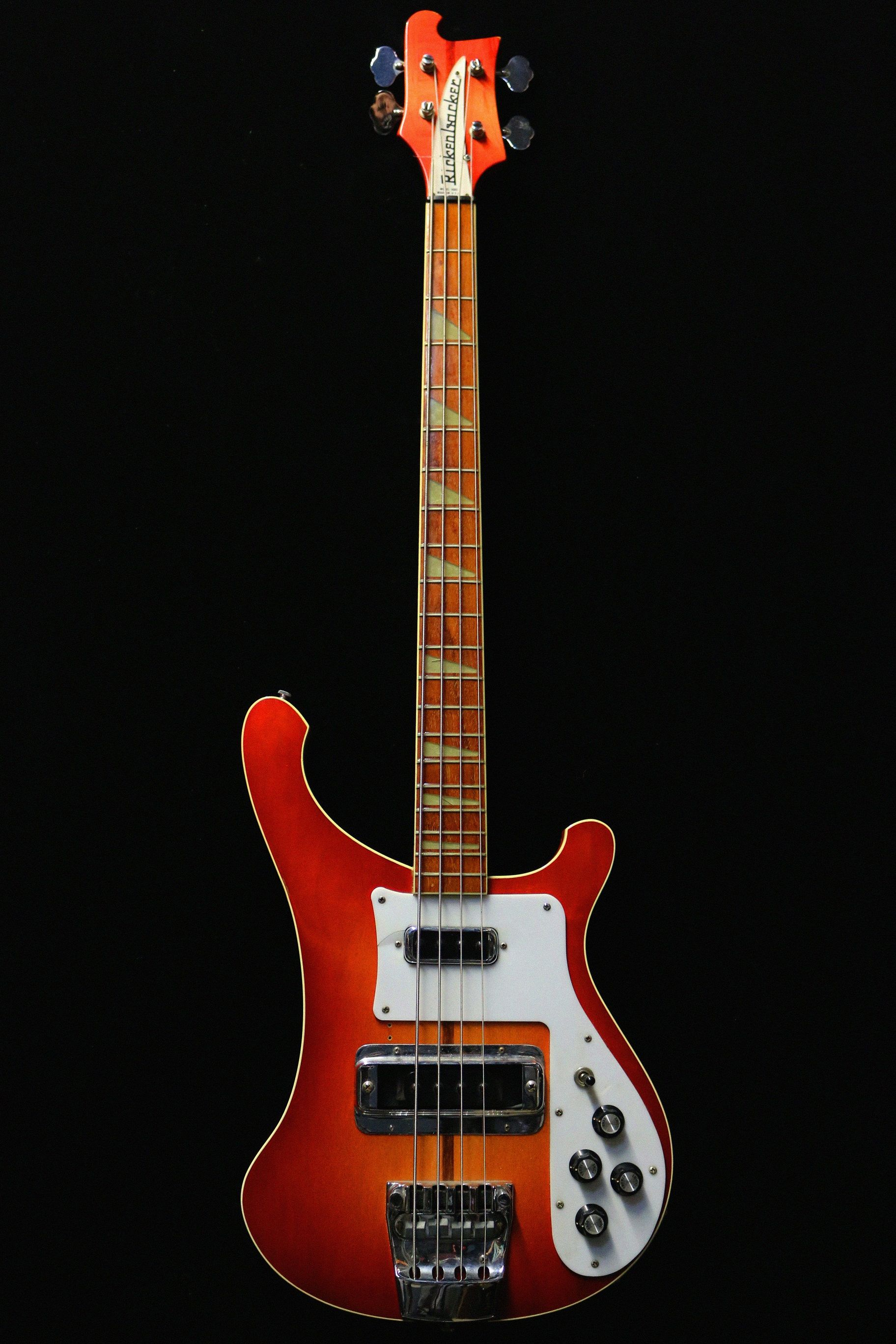 Rickenbacker 4001 Fireglo De 1974 Guitare Collection
